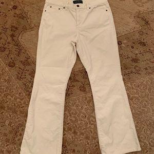 Lauren Jeans Co. Ralph Lauren Cords size 10 P
